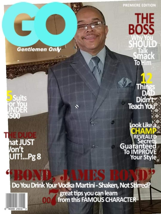 Gentleman Only Magazine Cover