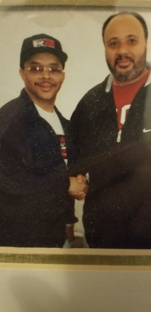Stan with Martin Luther King III