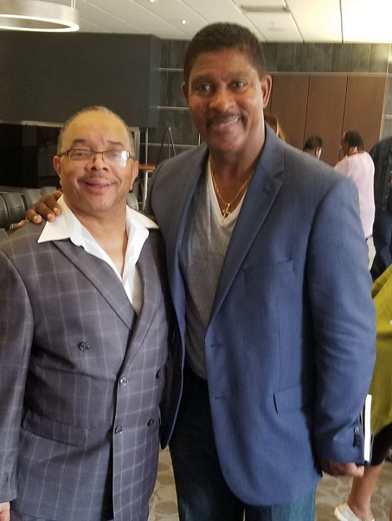 Stan with Lester Troutman
