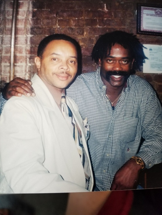 Stan with Larry Blackmon from Cameo